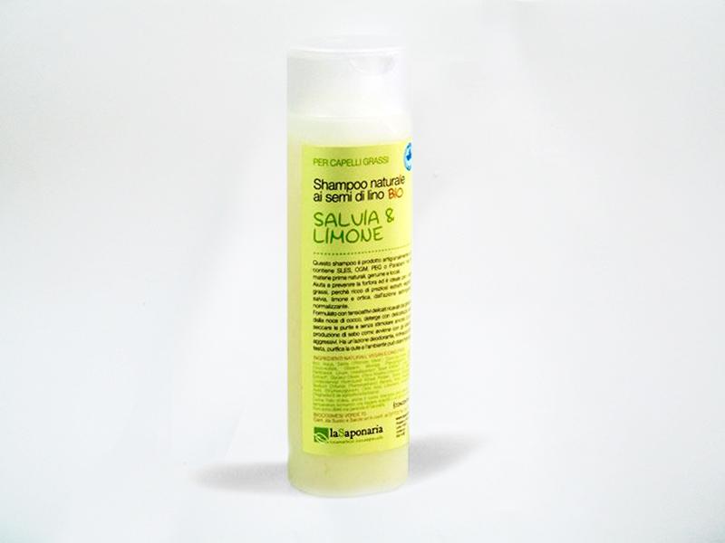 LA SAPONARIA shampoo salva e limone