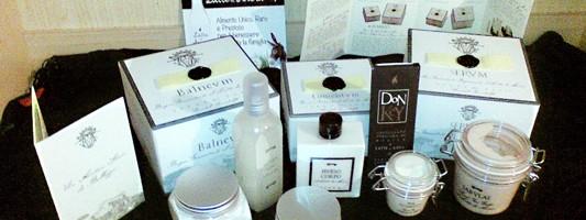 TERRE DEI PAPI – CASTEL GANDOLFO: alta cosmesi al latte di asina
