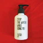 STOP THE WATER WHILE USING ME! : All Natural Lemon Honey Soap 200ml