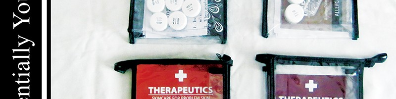 ESSENTIALLY YOURS: Natural Elements e Therapeutics Sample Kits (Review)
