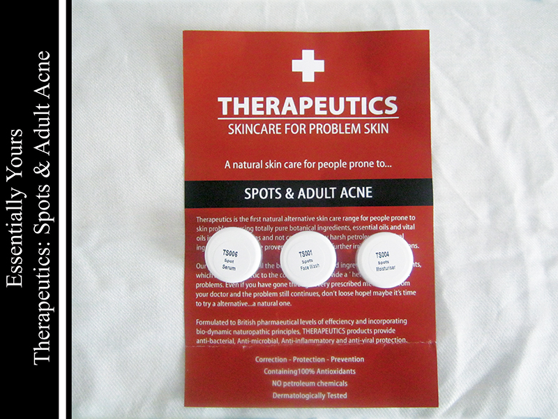 Essentially Yours-spots and adult acne
