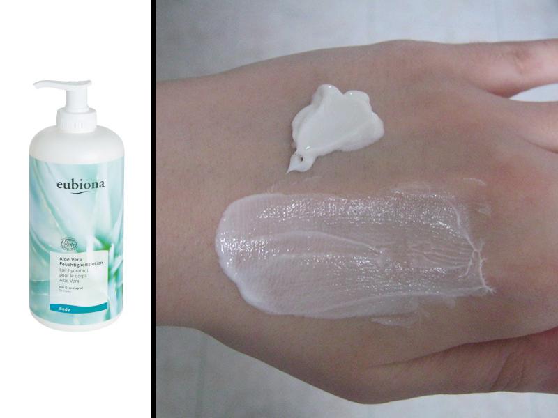 eubiona - lozione corpo aloe e melograno