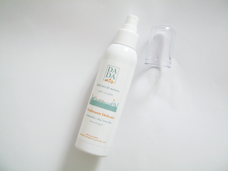 deodorante delicato dadamio