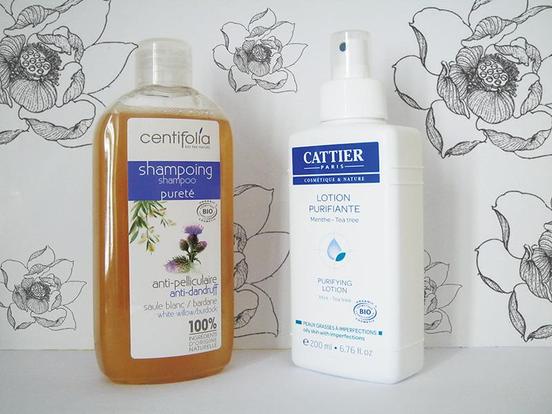 centifolia shampoo-cattier lozione purificante