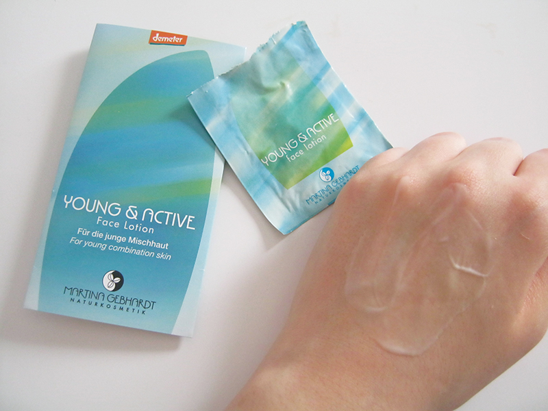 MG Young&Active face lotion