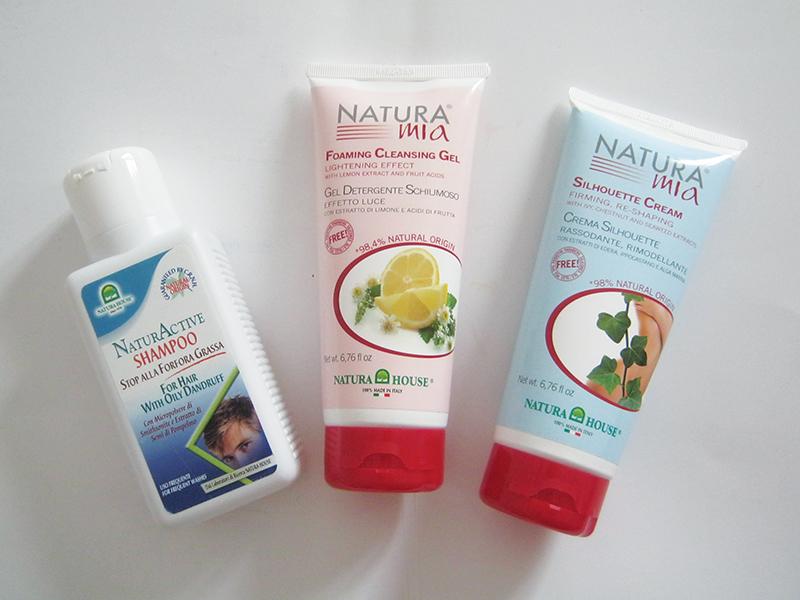 Natura House, shampoo, detergente, crema corpo