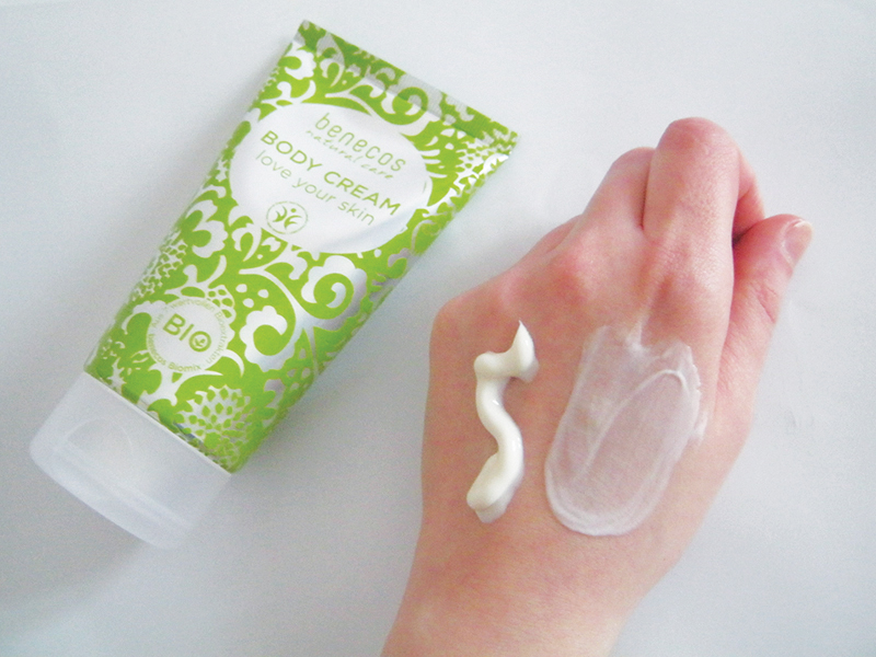 Benecos Body cream - love your skin