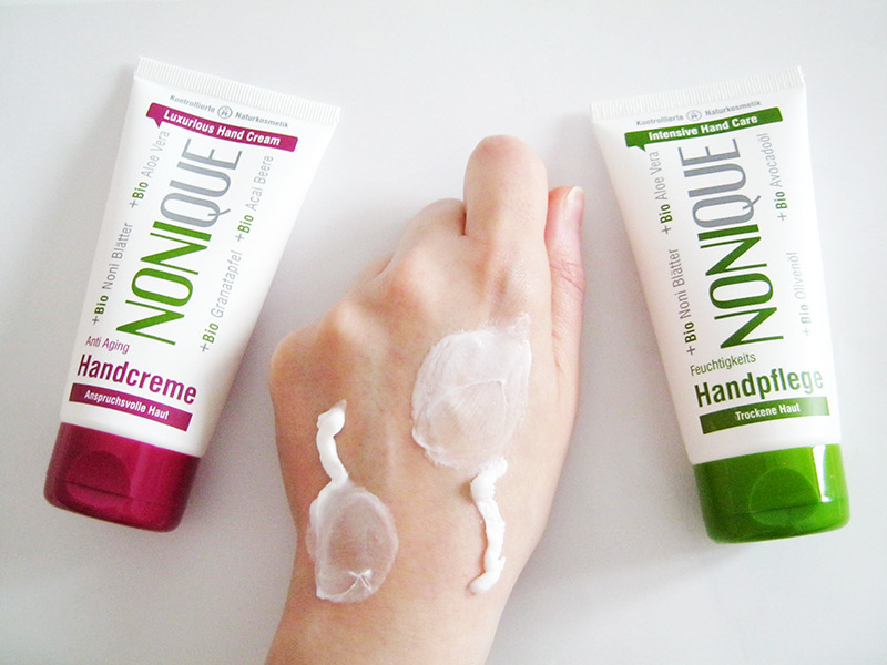 NONIQUE - creme mani anti aging e intensive
