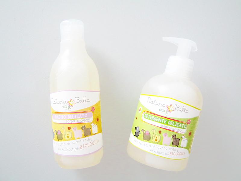 Natura Bella Baby di Pierpaoli - bagno delicato e detergente delicato