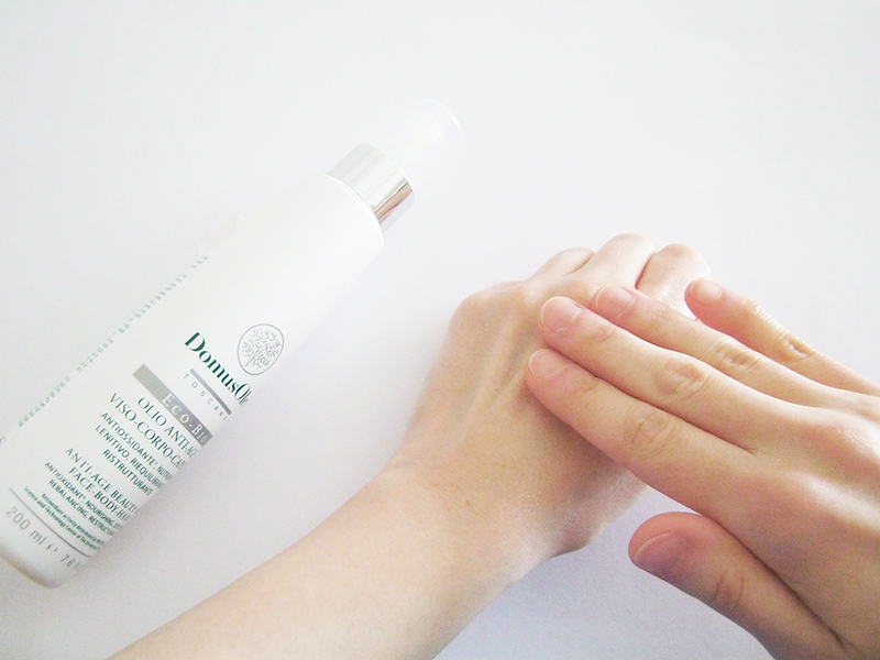 DOMUS OLEA TOSCANA olio anti-age massaggio