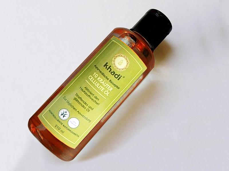 KHADI 10 karuter cellulite ol - olio anticellulite 10 erbe