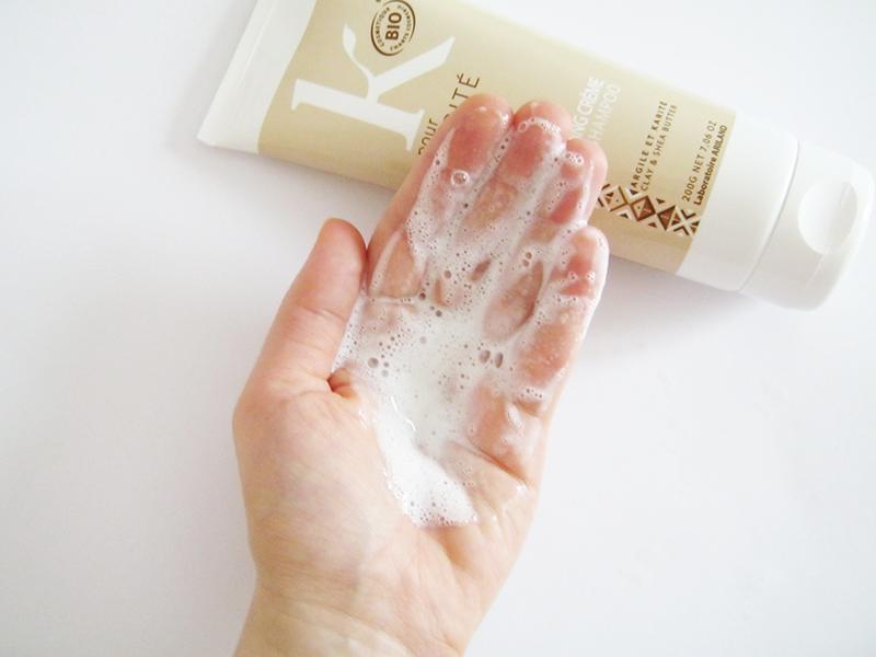 K POUR KARITE shampoo argilla texture
