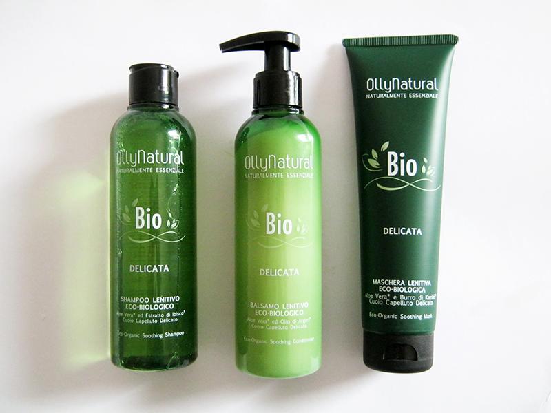 BIO OllyNatural linea trattamento capelli