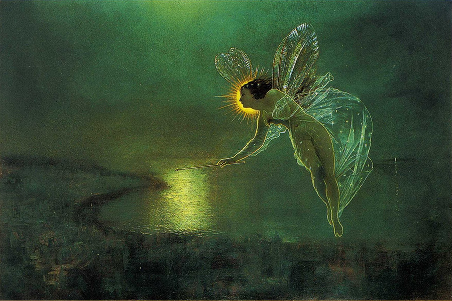 Spirit of the night - John Atkinson Grimshaw