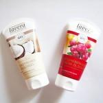 LAVERA: gel doccia alla vaniglia e cocco, olio doccia crema rigenerante al cranberry e argan