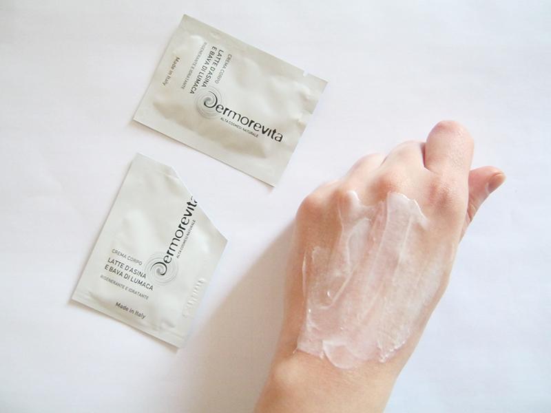 Dermorevita crema corpo latte asina e bava lumaca