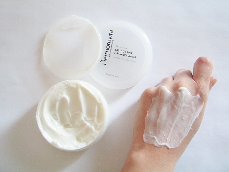 Dermorevita crema mani latte asina bava di lumaca