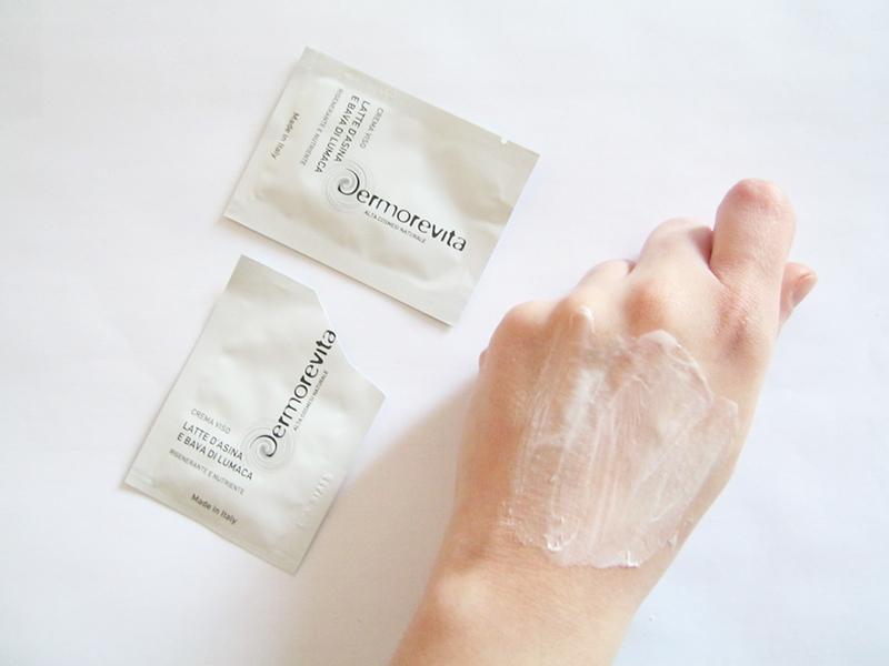 Dermorevita crema viso latte asina e bava lumaca