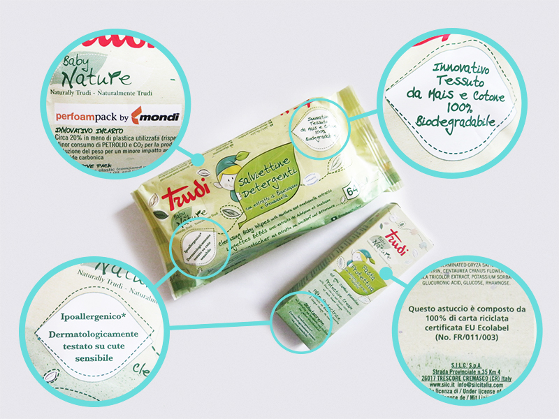 Trudi baby nature packaging