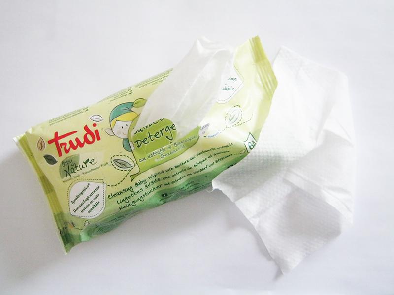 Trudi baby nature salviette detergenti