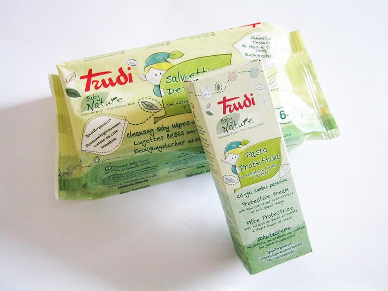 TRUDI BABY NATURE: cosmetici green per l'igiene e la