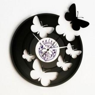 DISC'O'CLOCK orologio farfalle
