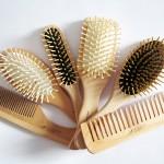 EMANUELA BIFFOLI, GUENZANI: Pettini e Spazzole in legno naturale dai prezzi medio-bassi e di buona manifattura