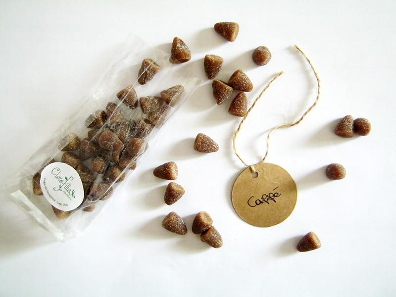 Erboristeria Clorofilla caramelle caffè Mokaccina