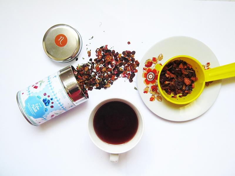 Neavita Infuso Ribes e Mirtilli preparato