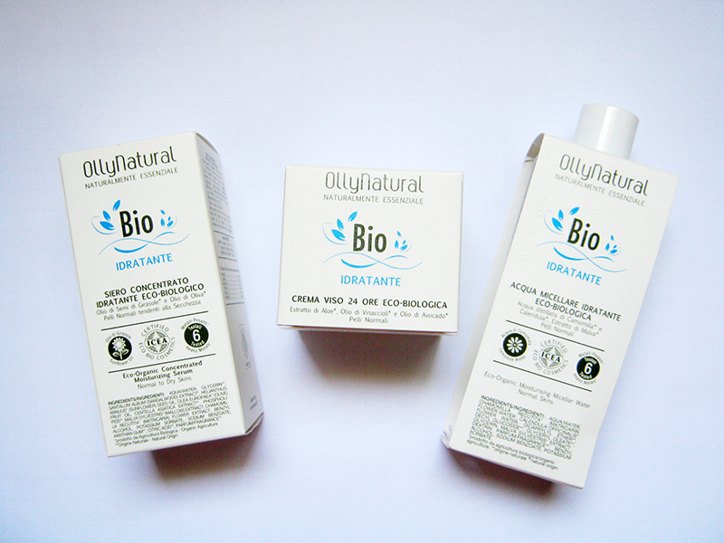Ollynatural Bio Idratante packaging