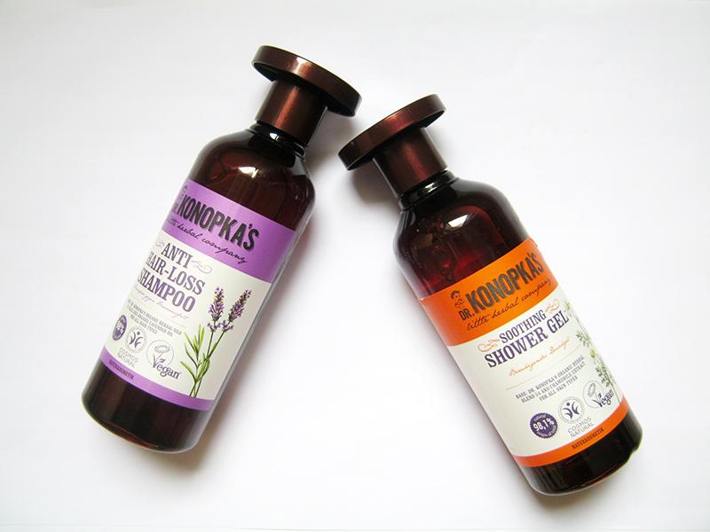 Dr. Konopkas shower gel soothing e shampoo anti hair-loss