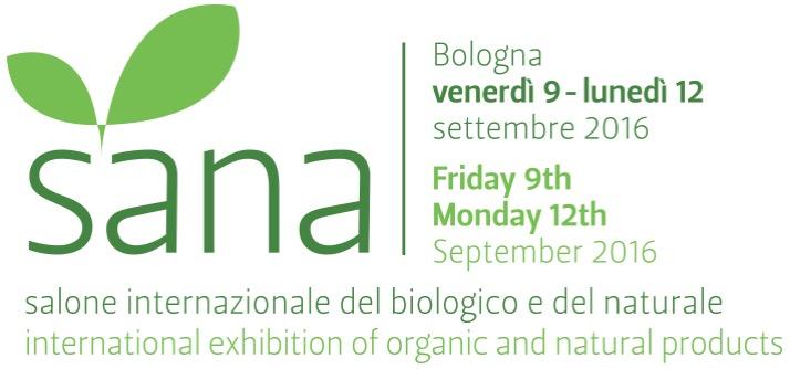 Salone internazionale del biologico e del naturale: la presentazione di SANA 2016 (comunicato stampa)