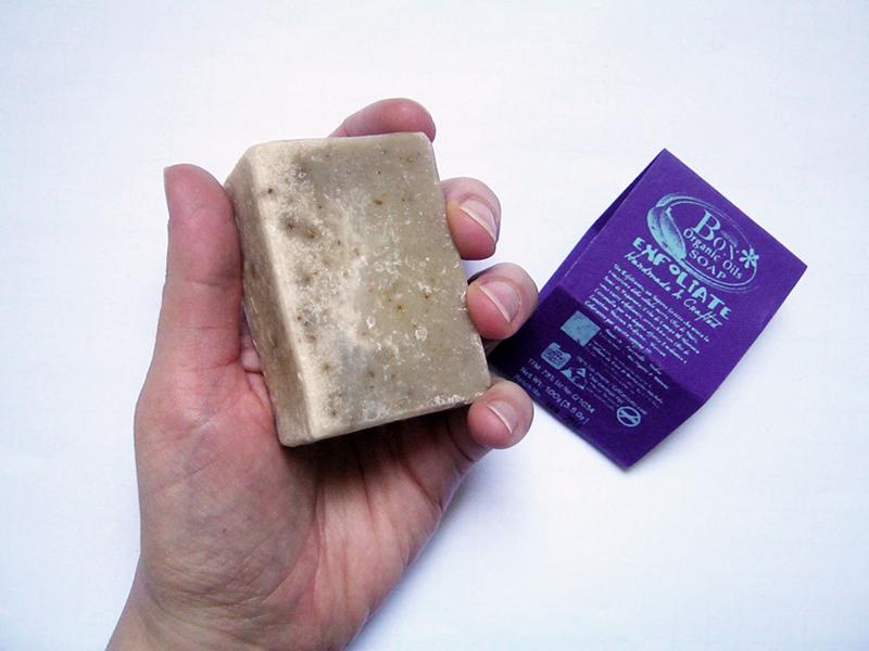 BON exfoliate sapone ayurvedico