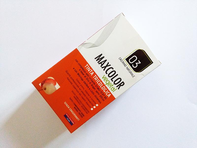 VITAL FACTORS: Maxcolor Vegetal, tinta tricologica permanente vegetale. Nuance 03 Castano Naturale
