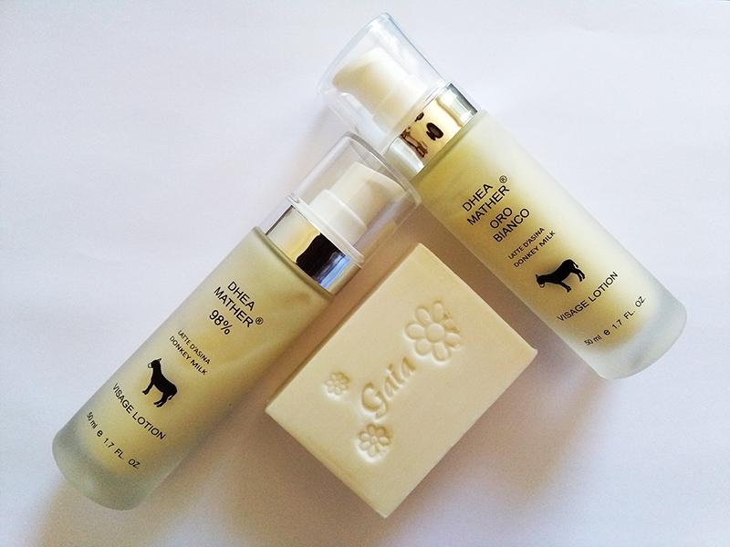 DHEA MATHER: dalla Sardegna i cosmetici naturali con latte d'asina fresco non liofilizzato